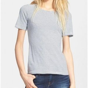 FRAME Le Slim Tee Cashmere T-shirt Denim Fitted M